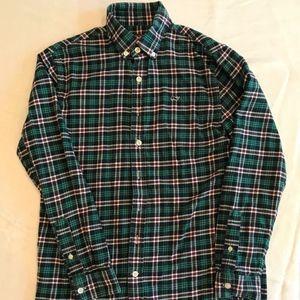 Vineyard Vines Boys Size 16 (L) Flannel Shirt